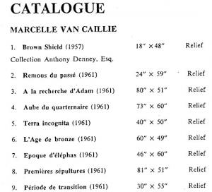 MvC Drian catalog