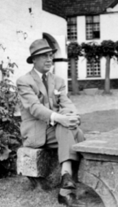Jean Louis van Caillie at his subsequent home, Prevôte St Christophe, Damme.