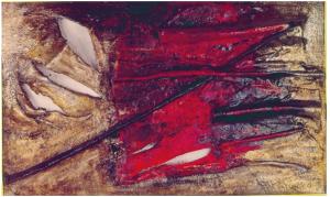 A LA RECHERCHE D'ADAM, 205 X 132cms