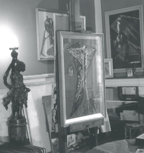 Studio at 3 Ennismore Gdns, London SW3.